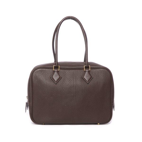 Sac Hermès Plume marron