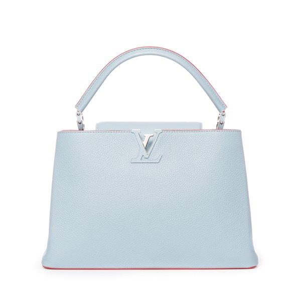 Sac Vuitton Capucine bleu