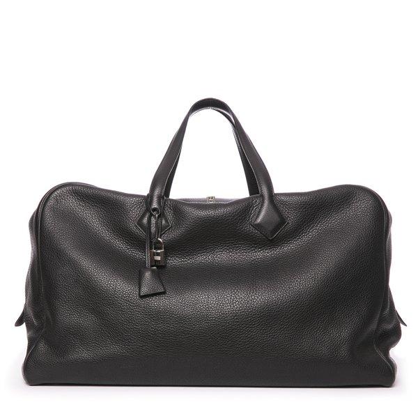 Sac de voyage Hermès Victoria noir