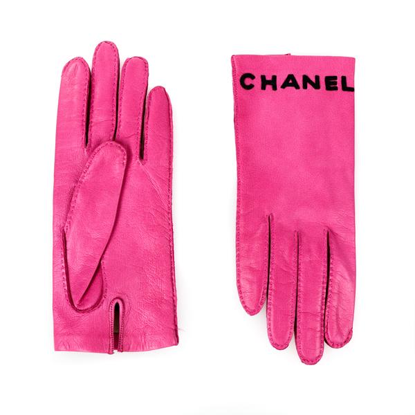 Gants Chanel roses 1