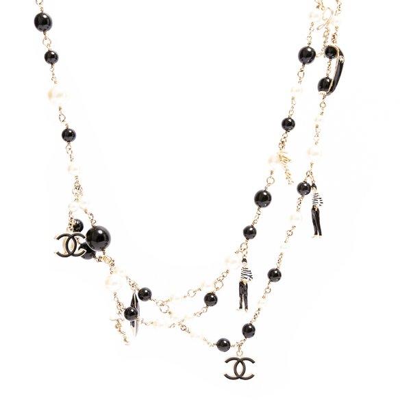 Sautoir Chanel collection venise