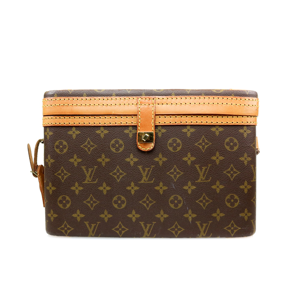 Vanity Case Vuitton toile monogram LV face