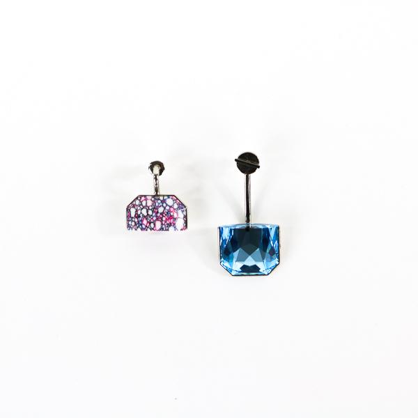 Boucles d'oreilles Dior set