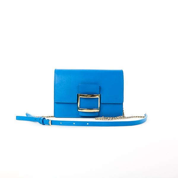 Petit sac Roger Vivier bleu