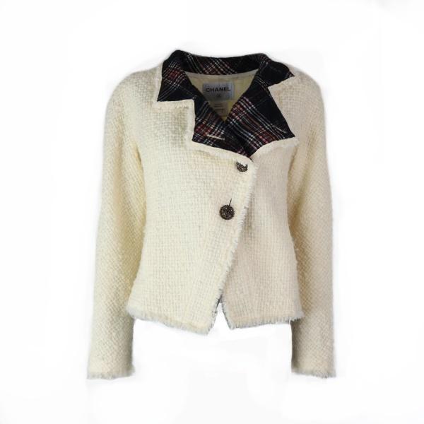 Veste Chanel forme perfecto blanche