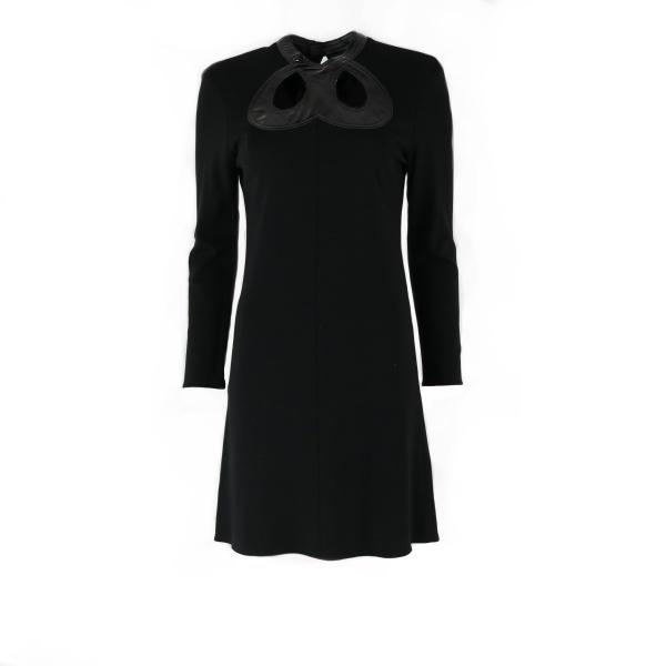 Robe ROLAND MOURET noire face