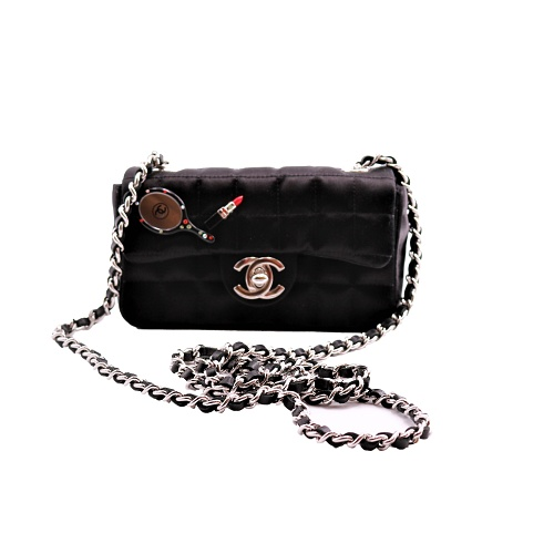 Mini Sac Chanel Satiné face ok