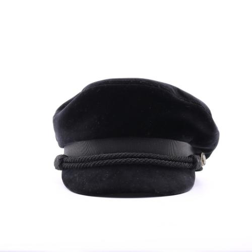 Gavroche Saint Laurent velours noir face